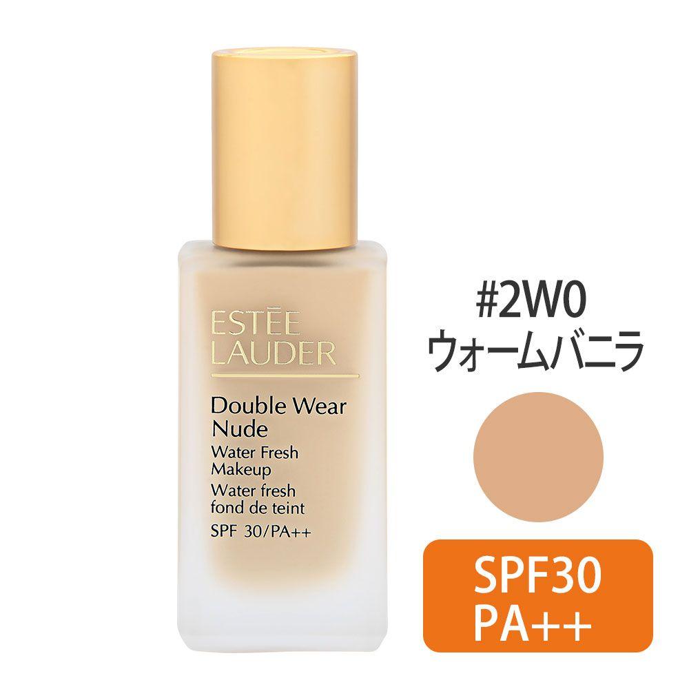 ダブルウェア ヌードウォーター フレッシュ メイクアップ SPF30/PA++ #2W0(ウォームバニラ) 30ml